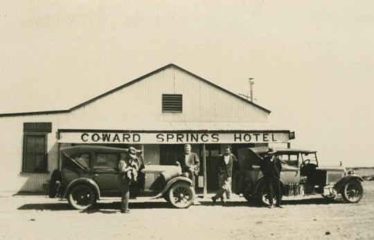 Coward Springs Hotel, 1928