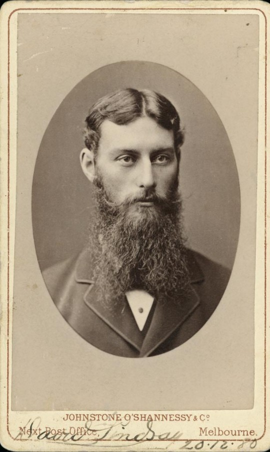 David Lindsay, surveyor and explorer who in January 1886 used Dalhousie Springs as a base, B495