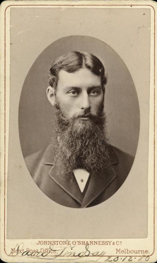 David Lindsay, surveyor and explorer who in January 1886 used Dalhousie Springs as a base, B495