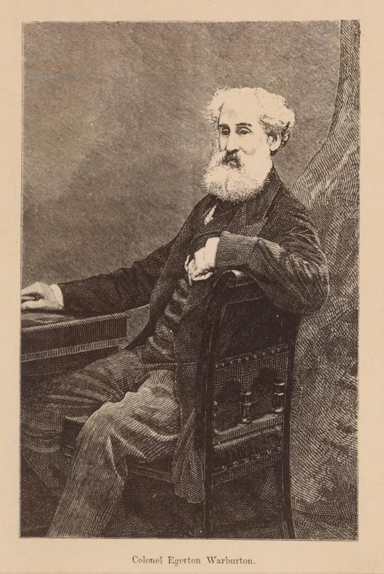Explorer Colonel Peter Egerton Warburton