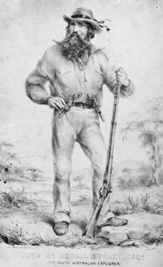 John McDouall Stuart, 1855 [B11201]