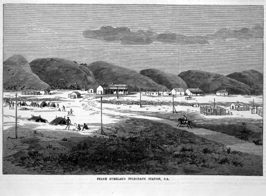 Peake Overland Telegraph Station 1883