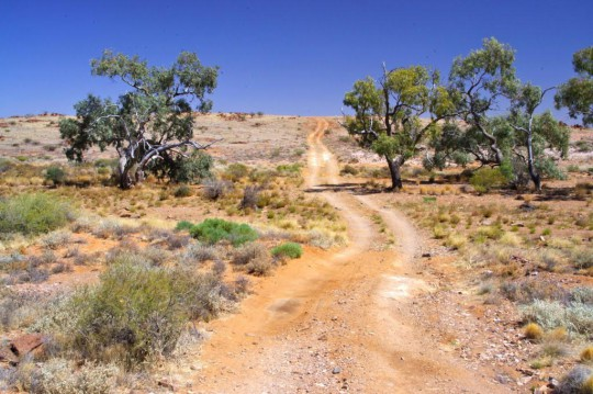 Public Access Track (PAR) off Oodnadatta Track to Freeling Springs (The Peake)