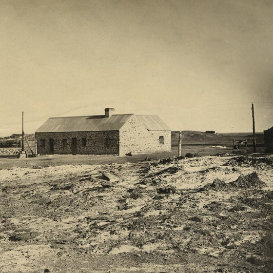 Strangways Spring Station, 1876