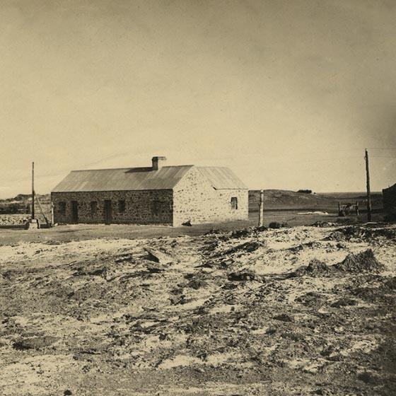 Strangways Spring Station, 1876