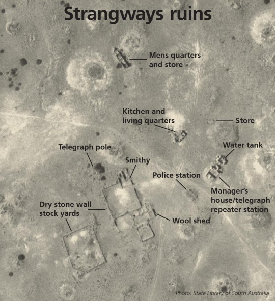 Strangways Springs ruins