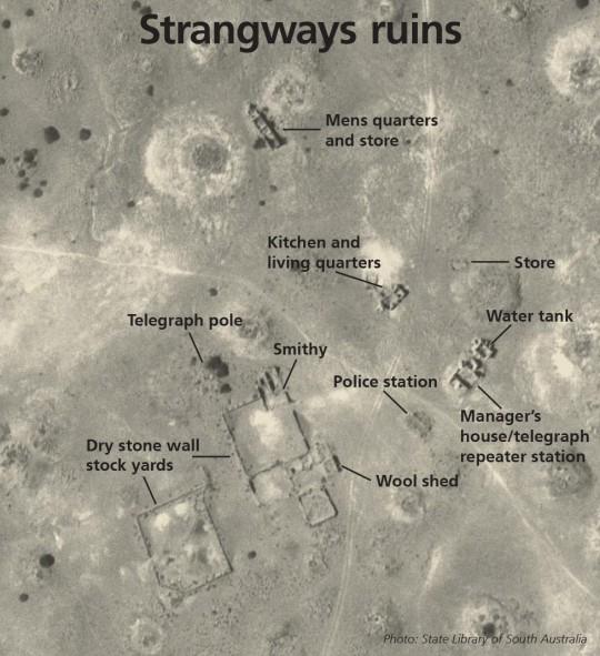 Strangways Springs ruins