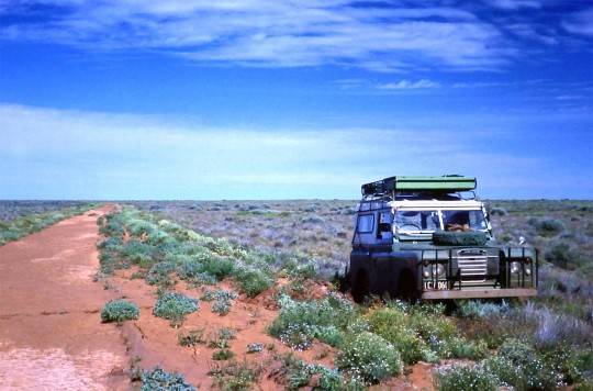 Tourism on Oodnadatta Track in the 1970s